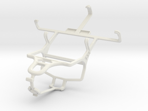 Controller mount for PS4 & Sony Xperia E dual in White Natural Versatile Plastic