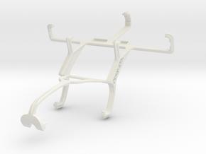 Controller mount for Xbox 360 & Sony Xperia E in White Natural Versatile Plastic