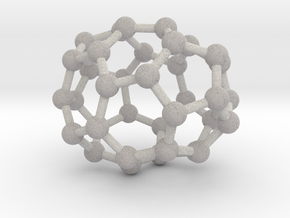 0029 Fullerene c36-01 c2 in Full Color Sandstone