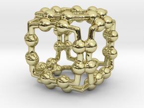 PEINTUREALUILLE CUBE in 18K Gold Plated