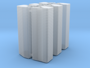 1/64 Front Weights 36 (6 Pieces) in Smooth Fine Detail Plastic