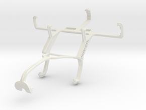 Controller mount for Xbox 360 & Sony Xperia U in White Natural Versatile Plastic