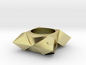 Geometric in 18K Gold Plated