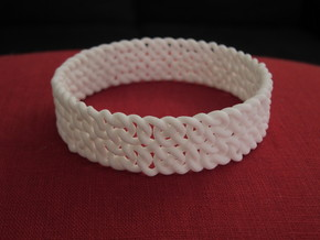 Islamic Woven Bracelet in Metallic Plastic