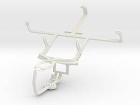 Controller mount for PS3 & Spice Mi-436 Stellar Gl in White Natural Versatile Plastic