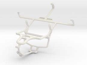 Controller mount for PS4 & Spice Mi-450 Smartflo I in White Natural Versatile Plastic
