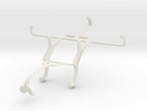 Controller mount for Xbox 360 & Spice Mi-515 Coolp in White Natural Versatile Plastic
