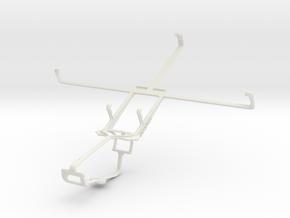 Controller mount for Xbox One & Spice Mi-720 in White Natural Versatile Plastic
