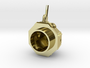 """M1917 Turret, """"Male"""" in 18K Gold Plated"""