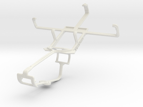 Controller mount for Xbox One & T-Mobile Prism II in White Natural Versatile Plastic