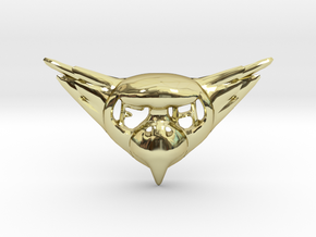 FLYHIGH: Womens Bird Pendant in 18K Gold Plated