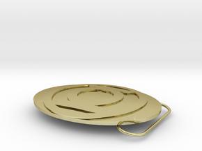 Green Lantern Belt Buckle in 18K Gold Plated