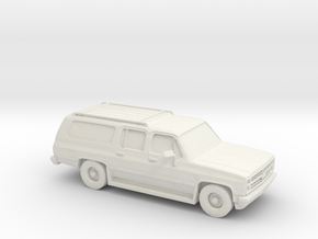 1/87 1985-88 Chevrolet Suburban in White Strong & Flexible