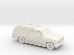 1/87 1985-88 Chevrolet Suburban in White Strong & Flexible