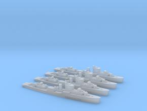 Maeklong class Sloop 1/2400 x4 in Smooth Fine Detail Plastic