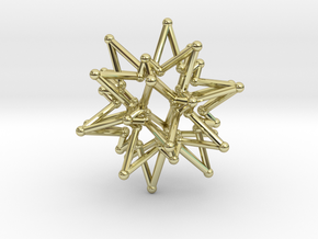 StarCore 2 Layers - 2.6cm in 18K Gold Plated