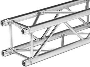 Square truss 2 meter 1:10 in White Strong & Flexible