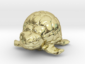 Turtle Miniature in 18K Gold Plated