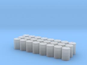 Game Piece, Power Grid, Oil Drum Token Type2 x24 in Smooth Fine Detail Plastic