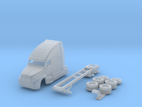 1:160 N Scale Kenworth T2000 Semi Tractor in Smooth Fine Detail Plastic