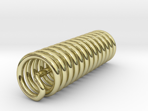 Zero Point Coil in 18K Gold Plated