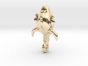 SUPERNATURAL Amulet 3.5cm in 14k Gold Plated Brass