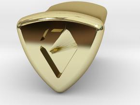 Stretch Logo 5 By Jielt Gregoire in 18K Gold Plated