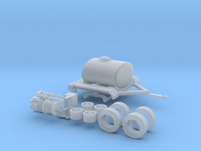 1/50th Water Tender, Fire Support, Fertilizer Tank in Smooth Fine Detail Plastic