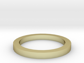 Dazzling ring Gold in 18K Gold Plated
