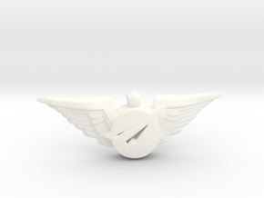 Big Imagination Crew Wings in White Processed Versatile Plastic