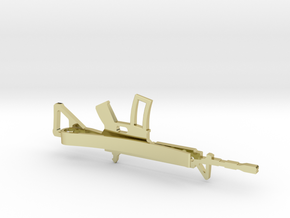 AR-15 MONEY/TIE CLIP in 18K Gold Plated