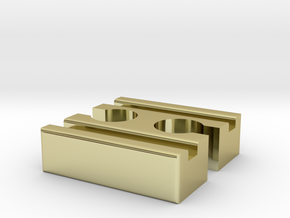Ikea LILLABO F-F Connector 40mm in 18K Gold Plated