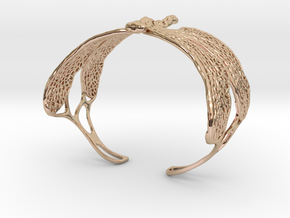 Dragonfly sizes XS-XL in 14k Rose Gold Plated Brass: Extra Small