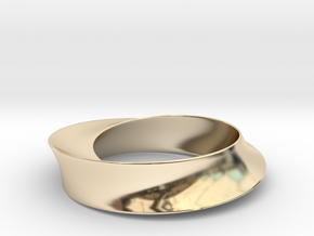 Umibilica in 14k Gold Plated Brass