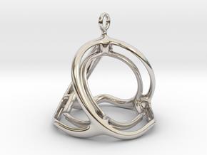 Spherohedron in Rhodium Plated Brass