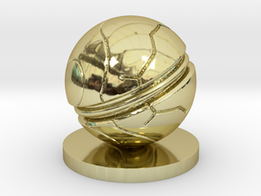 Slaughterball ball in 18K Gold Plated