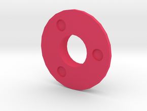 IGOR Tri-Circles Without Lip in Pink Processed Versatile Plastic