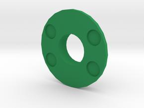 IGOR Spetsnaz Barrel Tip Without Lip in Green Processed Versatile Plastic