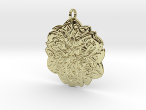 Celtic Knot Pendant in 18K Gold Plated