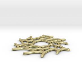 Floating Cells pendant in 18K Gold Plated