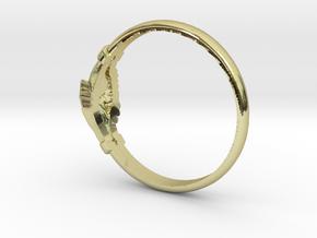 wedding ring Saint Rita of Cascia in 18K Gold Plated