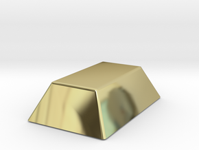 Mini Gold Bar in 18K Gold Plated