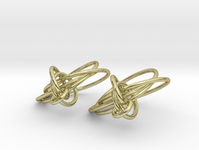 Loops Earrings - Larger - 2 Pcs in 18K Gold Plated