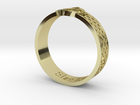 Ring - Ring of Mara (Size 13) in 18K Gold Plated