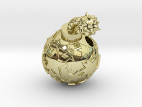 Star Bomb  in 18K Gold Plated