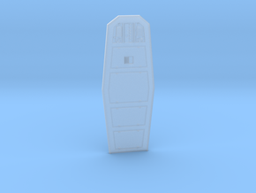 YT1300 HSBRO CABIN DOOR  in Smooth Fine Detail Plastic