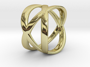 Tre Ring in 18K Gold Plated