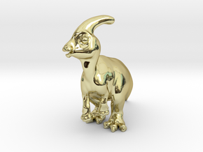 Parasaurolophus Chubbie SolidBIG 1 in 18K Gold Plated