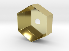 Hex Holder in 18K Gold Plated