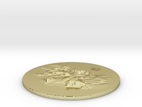 Island Terrain in 18K Gold Plated